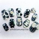 Hello Kitty CC nails