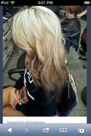 Reverse Ombr 233 Blonde Hair Beautylish