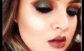 Blue/Brown Metallic Smoky Eye Tutorial