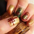 Christmas gift nails