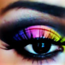Very Inspired Rainbow Colors & Cut Crease