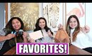 FAVORITES WITH MY COUSINS! | Beauty + Lifestyle | Tarte, YSL, Thrive Causemetics