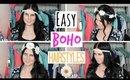 3 Easy Boho Hairstyles