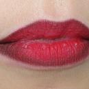 Ombre Red Velvet Lips....