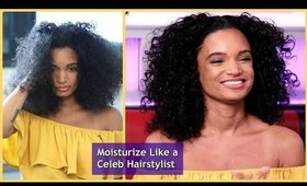 Celeb Hairstylist Monae Everett dishes on tips to keep your hair moisturized