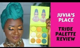Juvias Place Tribe Palette Review on Dark Skin