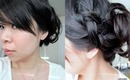 Hair Tutorial: Double Dutch Braid Tousled Updo
