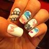 lace nail style