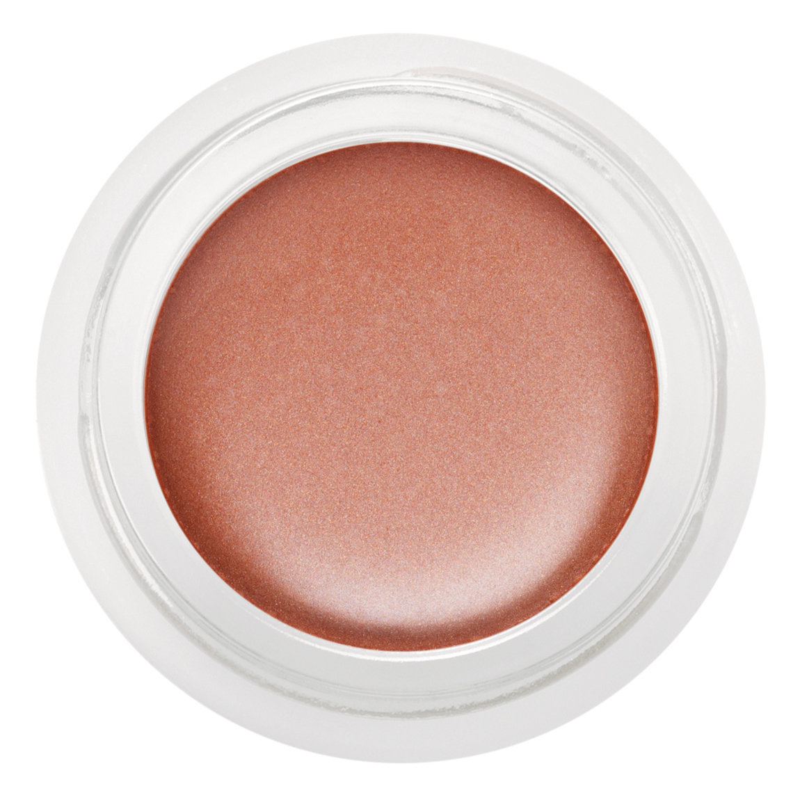 rms beauty Peach Luminizer product swatch.