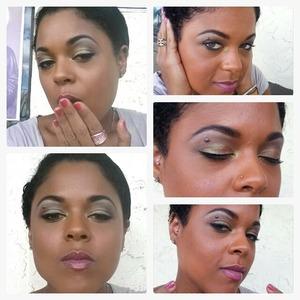 Make-up look by @genastylez