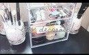LETS DECORATE! Inexpensive ways to spice up your room! (Office & Closet Tour)