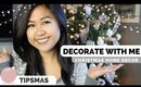 Holiday Decorate With Me | Christmas Tree and Decor Tips