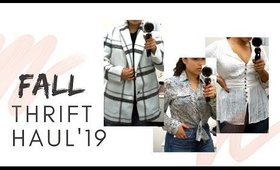 FALL THRIFT HAUL + TRY ON 2019