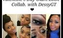 Glitter Eye Make Up Valentines Day Collab V.Shireen