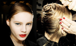 Milan Fashion Week, Fall 2011: Redken at Jil Sander