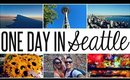 TOURING SEATTLE IN A DAY   Travel Vlog
