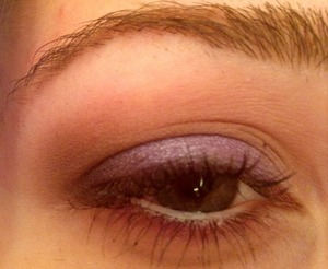 I cannot take good pictures of my eyes for the life of me! But I did a neutral look!