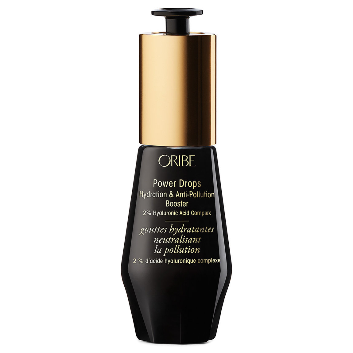 Oribe Power Drops Hydration & Anti-Pollution Booster product swatch.