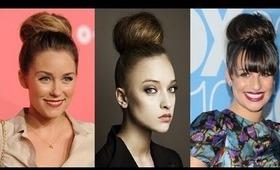 Celebrity Inspired High Bun Tutorial