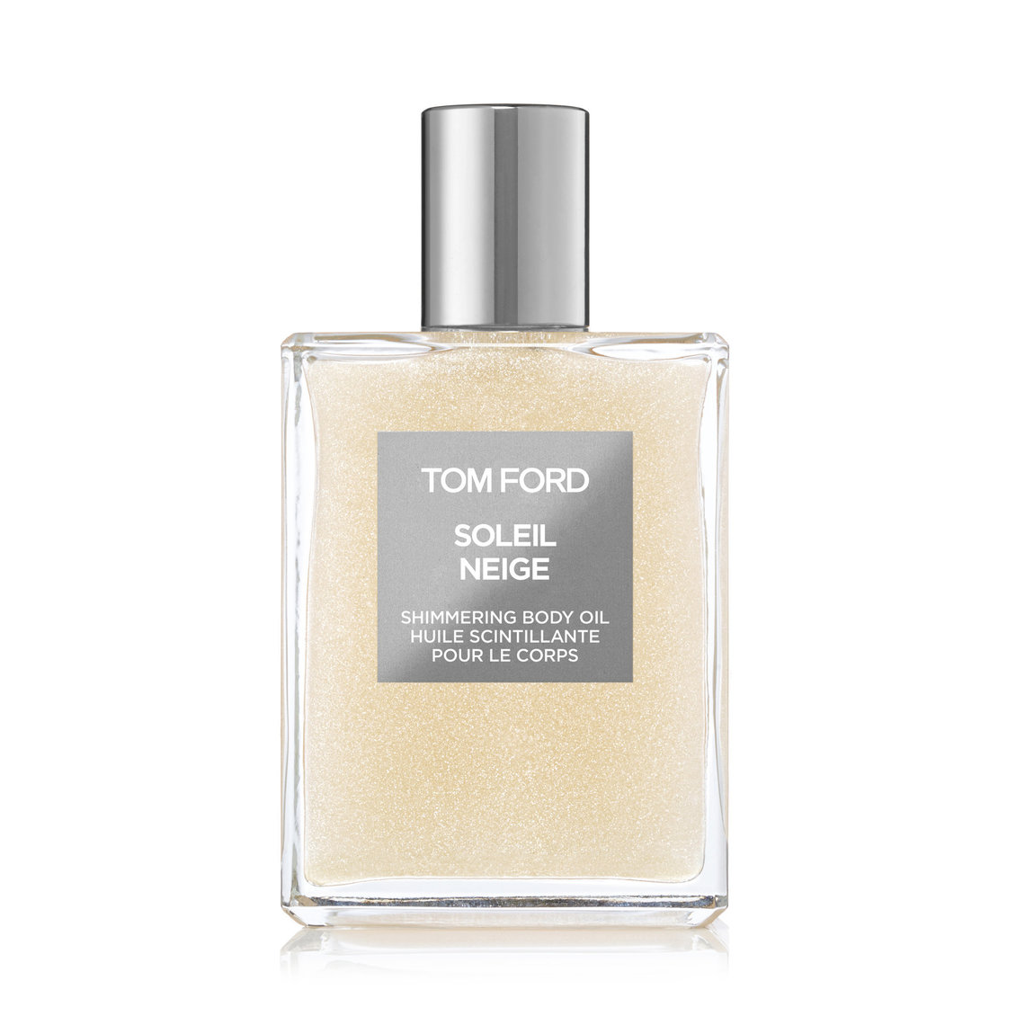 TOM FORD Soleil Neige Shimmering Body Oil product swatch.