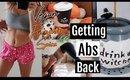 Getting my ABS back// VEGAN PUMPKIN SPICE LATTE