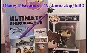 EA Disney GameStop Mystery Box