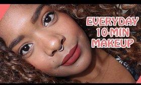 Everyday 10 Minute Makeup Tutorial 2017 || Zaji-Kali