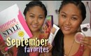♡ September '11 Favorites