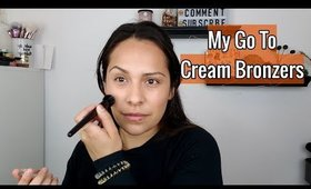 My Favorite 🌿 Cream Bronzers - RMS Beauty - Contour Bronze + Buruti Bronzer
