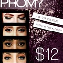Prom makeup ad