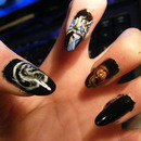 Mortal Kombat Nail Art 2