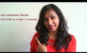 Kiss Instawave Review - Curled hair in under 5 minutes