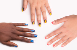 Nail Art Doesn't Have to Be Difficult! 3 Super-Simple Manis to Try Now