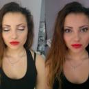 Coral Lipstick Makeup