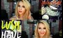 LUSH Skin Care Beauty Haul & Spring Night Makeup Tutorial