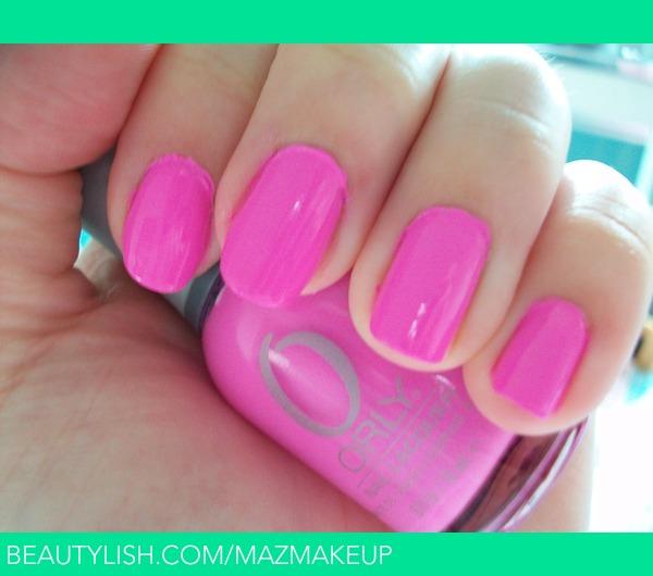 Orly Fancy Fushia Nail Polish | Mary A.\'s (mazmakeup) Photo | Beautylish