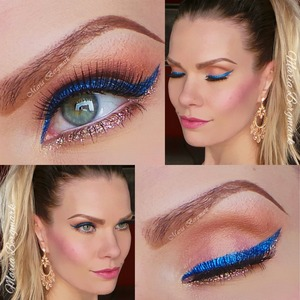 For this look you can find the products I've used and a tutorial in my blog:  http://mariabergmark.wordpress.com/