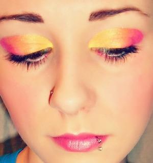 My face, my makeup, done myself;]