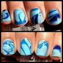 Light Blue Water Marble