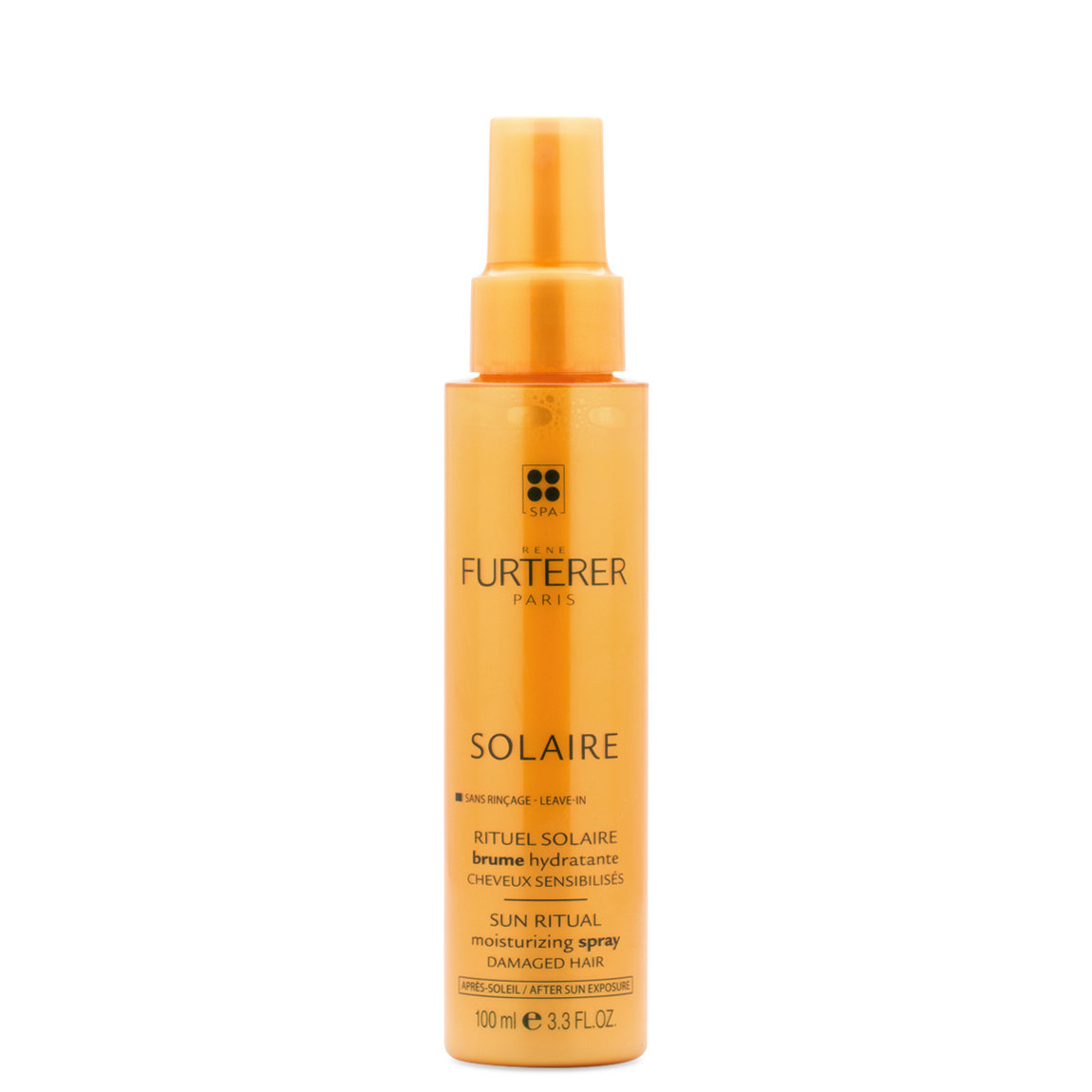 Rene Furterer Solaire Leave-In Moisturizing Spray product smear.