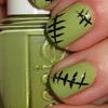 Monster High Frankie Stein Nails