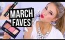 MARCH FAVORITES 2016 || New Makeup & Skincare I'm Loving!