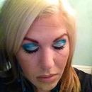 Teal/Cream Glitter Eye!!