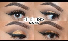 Gold Cut Crease + Lorac Pro Palette | MakeupByJisel