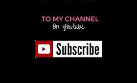 Welcome to my channel! | RosemaryBeauty