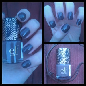 This elf nail polish does not have a name so I do not know what it is called.