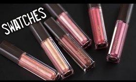 Jouer Best of Metallics Lip Creme Set Lip Swatches + Application!