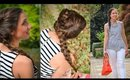 Garden Party Braid: Fishtail, Rosette, Dutch Braid Tutorial