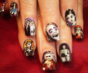 A fun Viewers Choice nail art design!