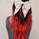 Red Tips & Big Bow